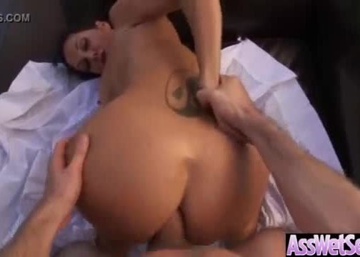 Girl with gorgeous behind love anal sex clip-14